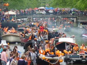 Queen's day Amsterdam on Flickr