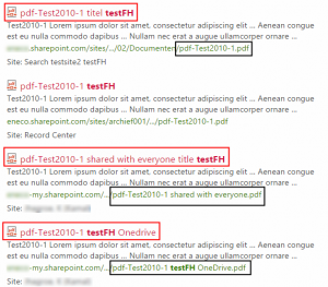 Duplicates hidden behind the link 'View duplicates', even though they have different titles and different filenames