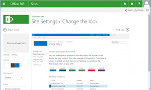 SharePoint - Change the look to Office