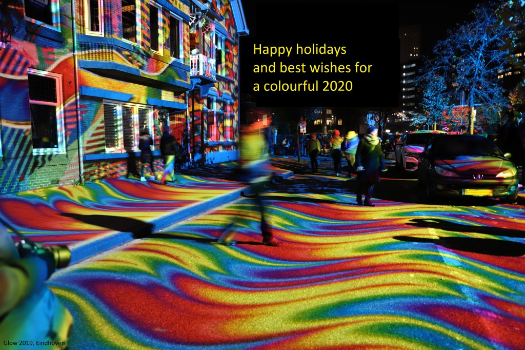 Happy holidays and best wishes for 2020