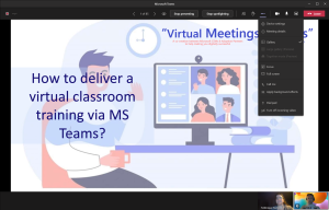 This is what a guest sees in a channel meeting, especially: no chat option.